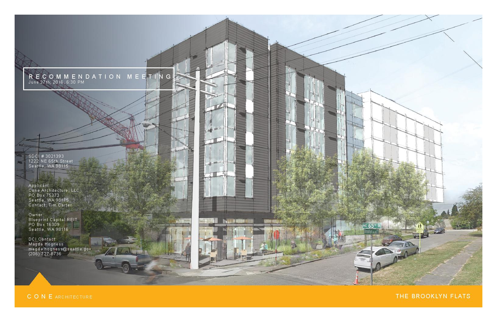 1222 ne 65th st seattle in progress view full proposal detailed information and renderings malvernweather Gallery